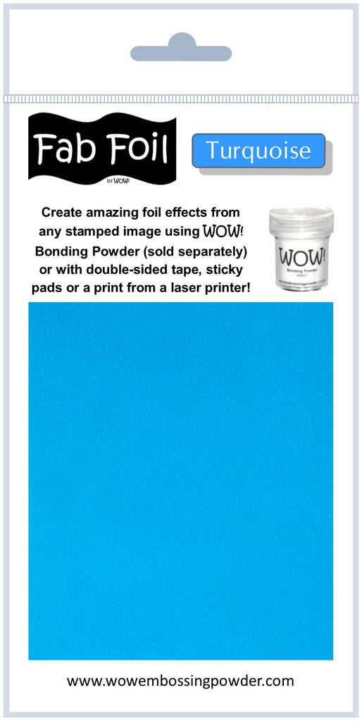 Fab Foil - Turquoise
