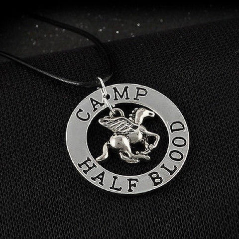 Percy Jackson Camp Half Blood necklace
