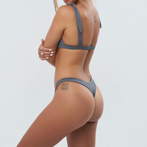 Moana Bottom - Stretch Jersey // Space Grey - Only size L left - THOSE SEEN DANCING