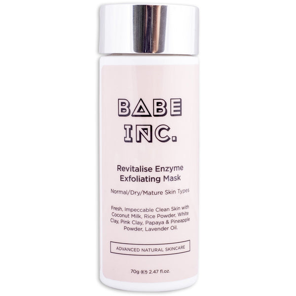 Babe Inc Revitalise Enzyme Exfoliating Mask