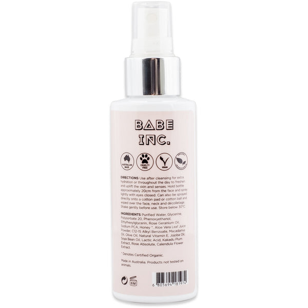 Babe Inc Hydrating Toning Mist