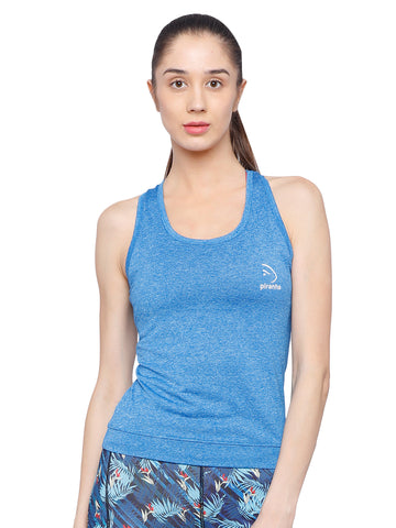 Piranha Women's Blue Tank Top TT316