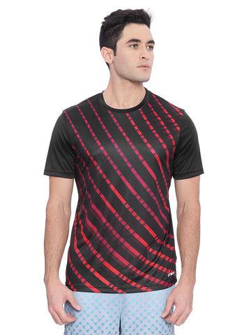 Piranha Black And Red T-Shirt