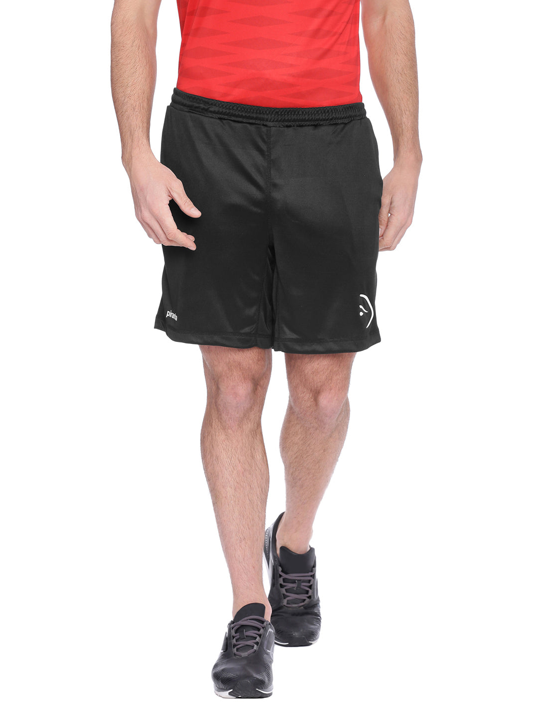 Piranha Black Shorts