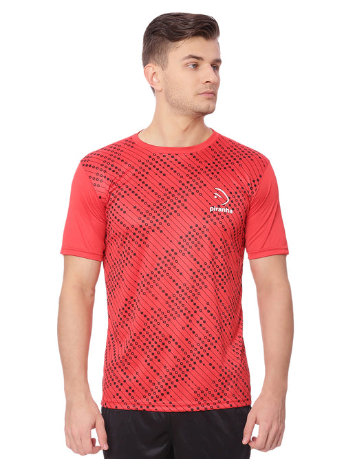 Piranha Red & Black T-Shirt