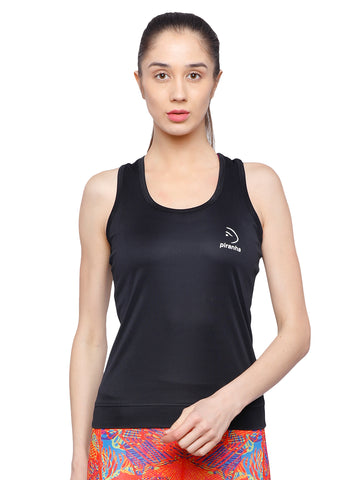 Piranha Women's Black Tank Top TT312