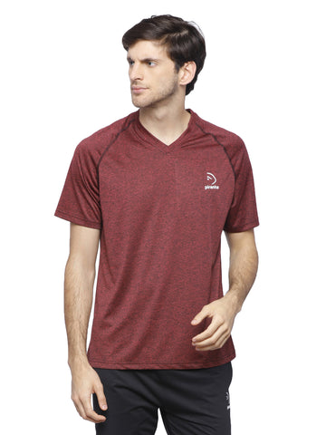 Piranha Men's Maroon T-shirt TS193