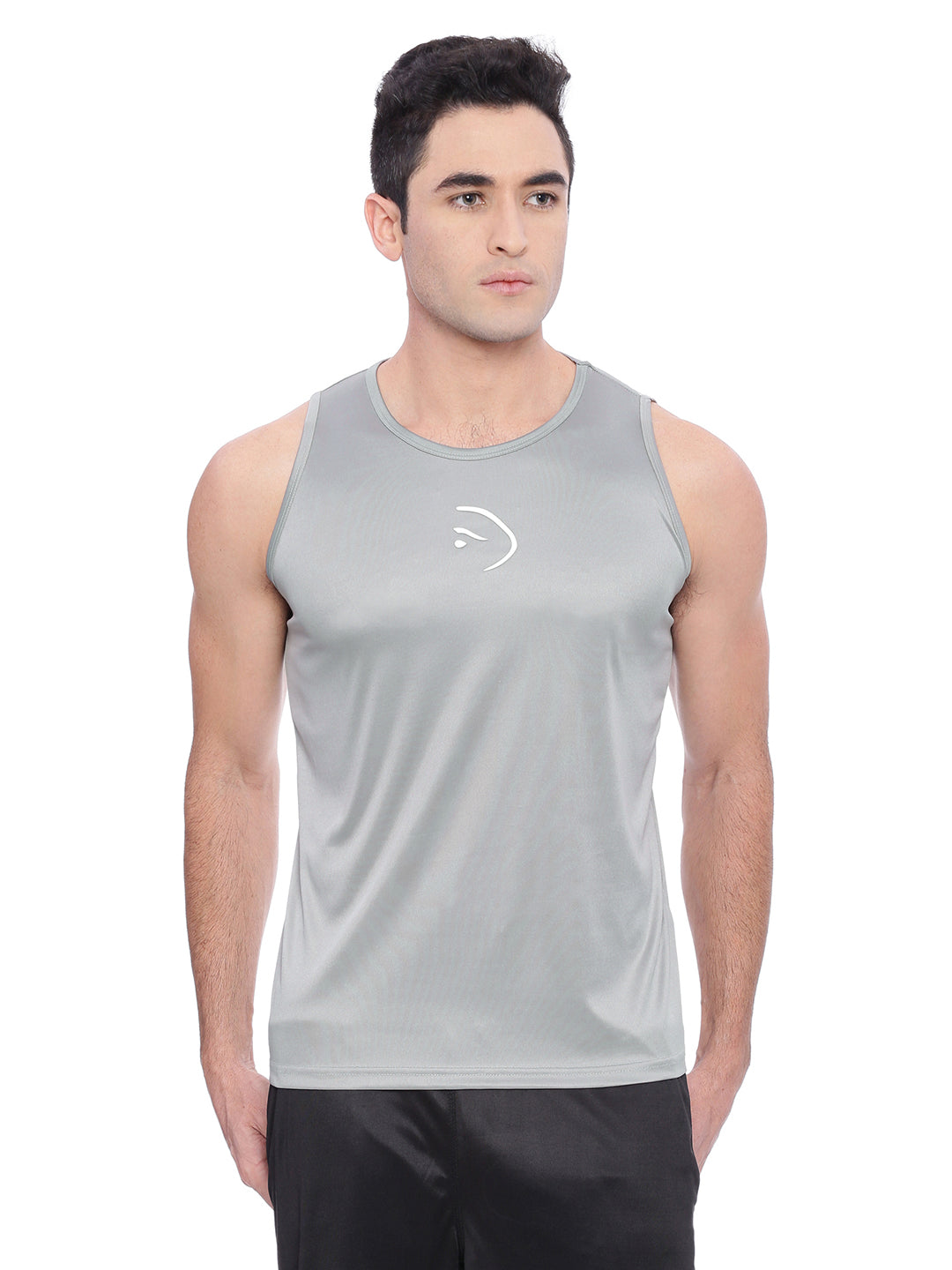 Piranha Grey Sleeveless Vest