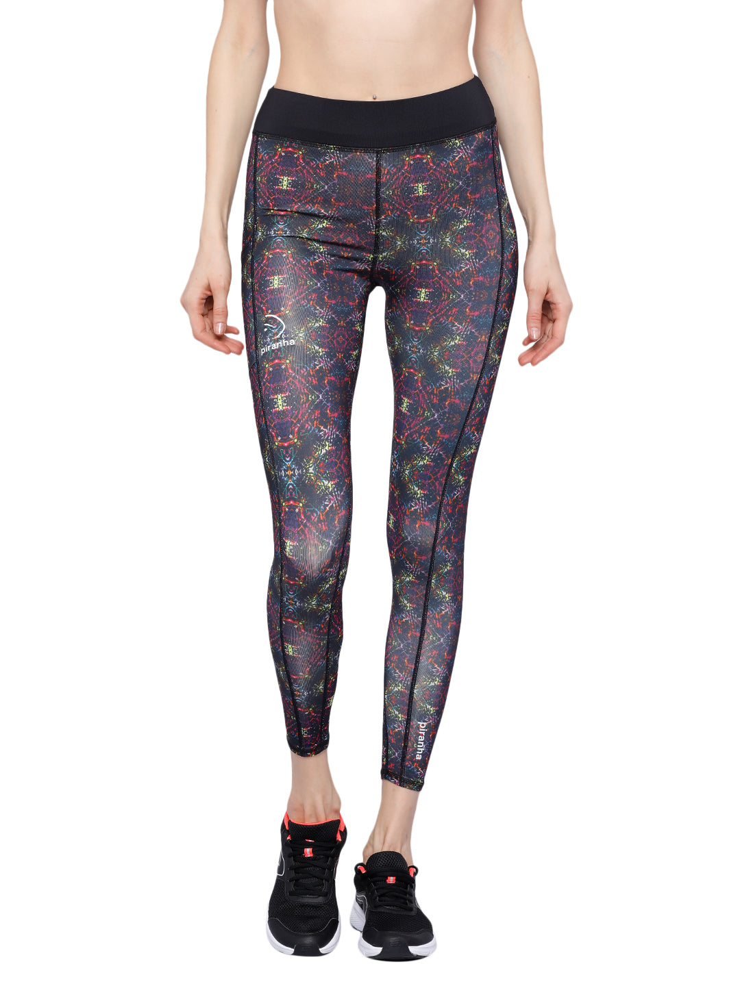 Piranha Women's Printed Yoga And Running Pants - YP05