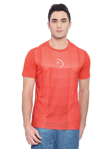Piranha Men Red Sports T-shirt