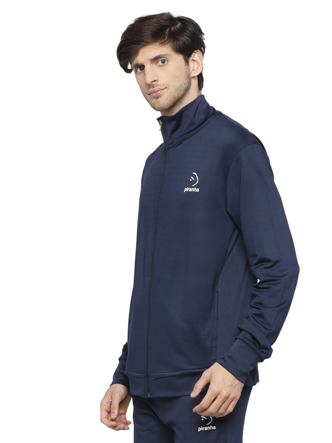 Piranha Men's Blue Track Jacket - MTJ324
