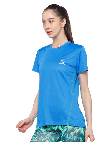 Piranha Women's Blue T-shirt TSG253