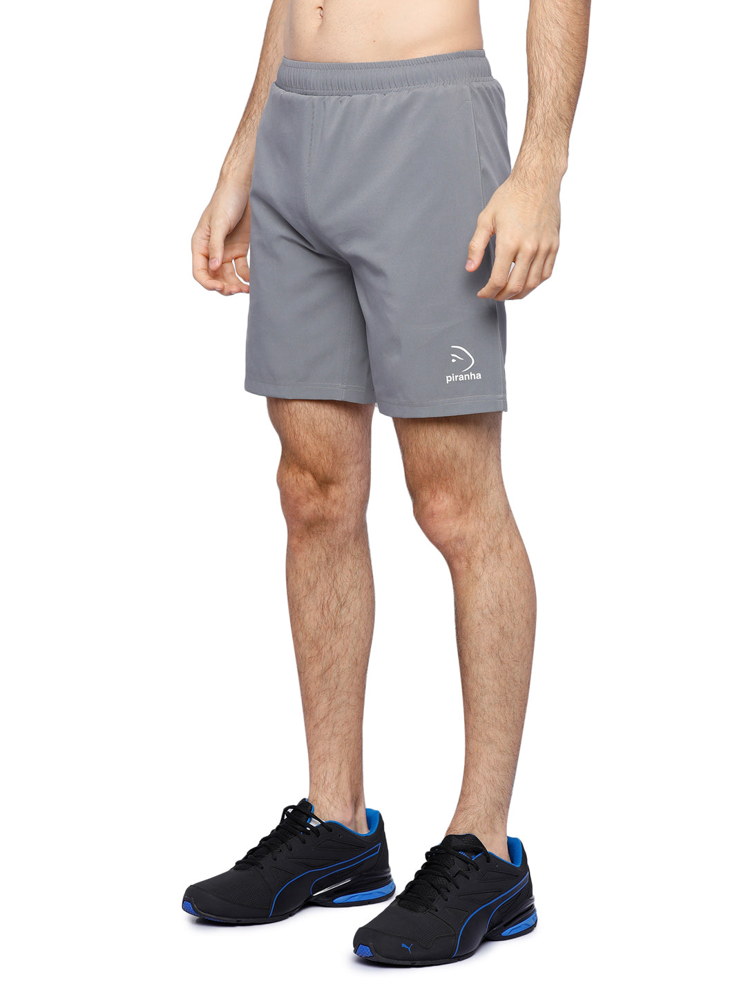 Piranha Men's Grey Shorts - S169