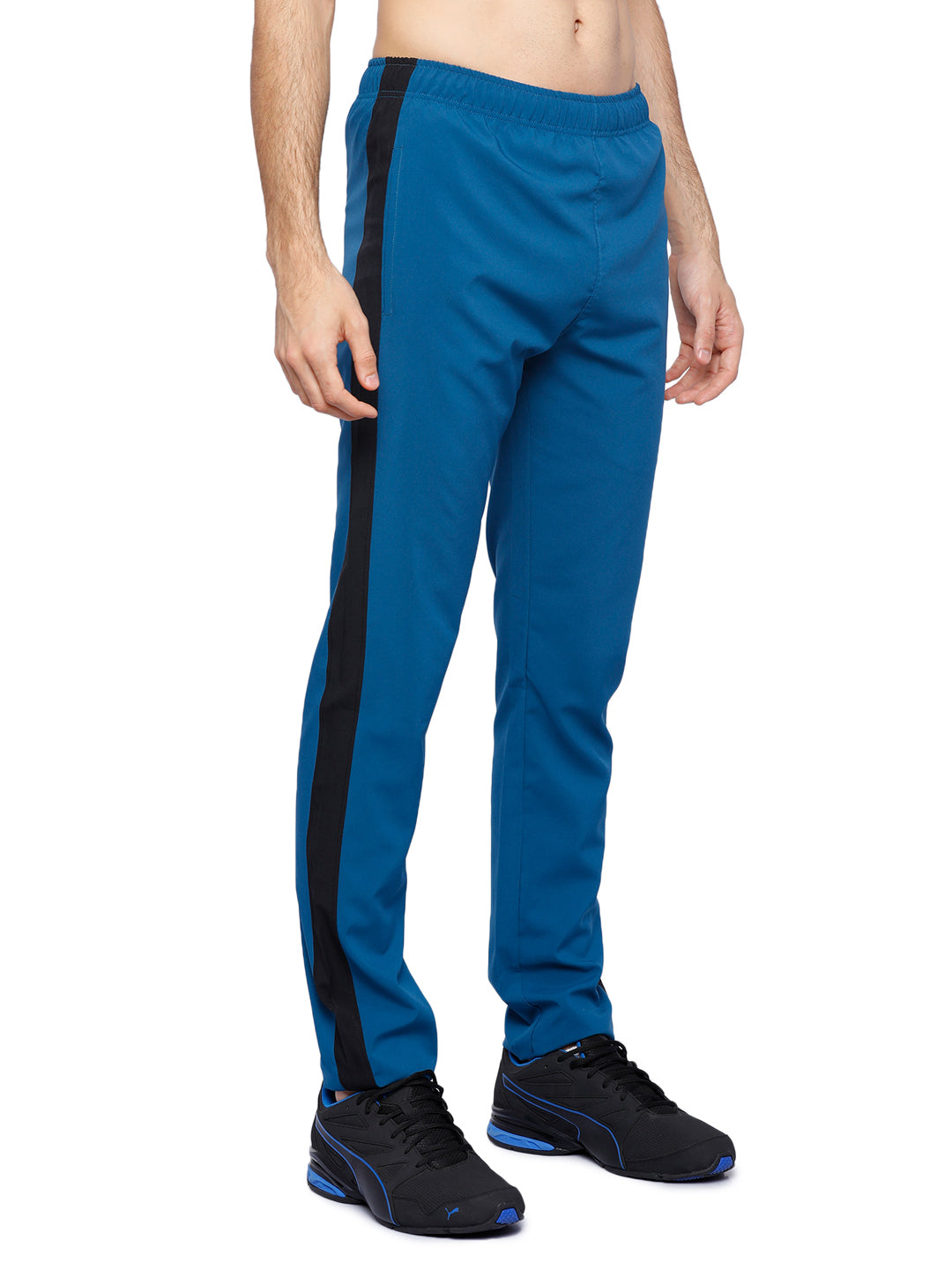 Piranha Men's Teal Woven Track Pants - MTP322