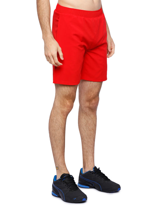 Piranha Men's Red Shorts - S189
