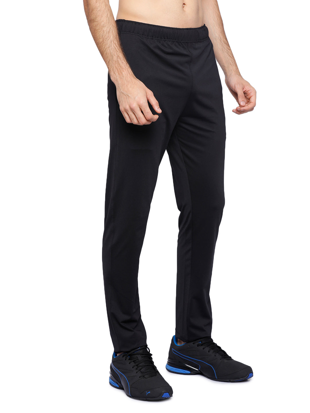 Piranha Men's Black Track Pants - MTP319