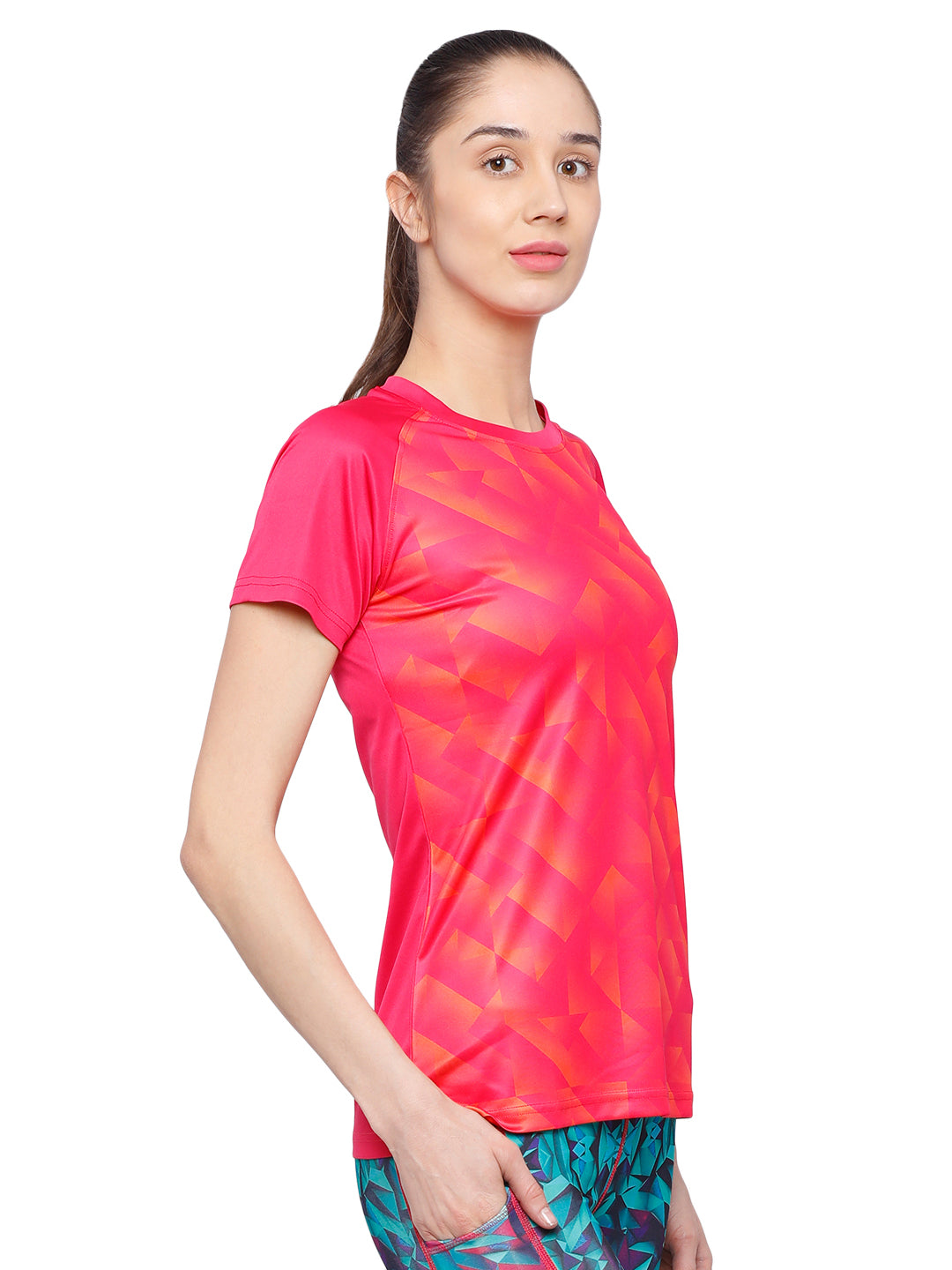 Piranha Women's Pink T-shirt TSG172