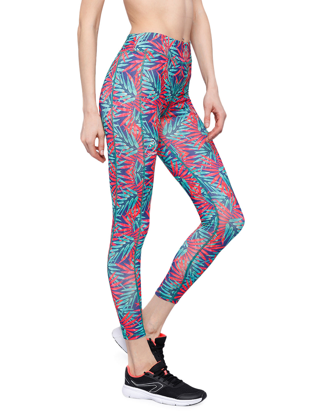 Piranha Women's Printed Yoga And Running Pants - YP151