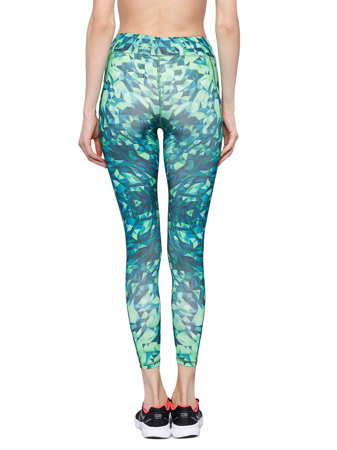 Piranha Women's Printed Yoga And Running Pants - YP84