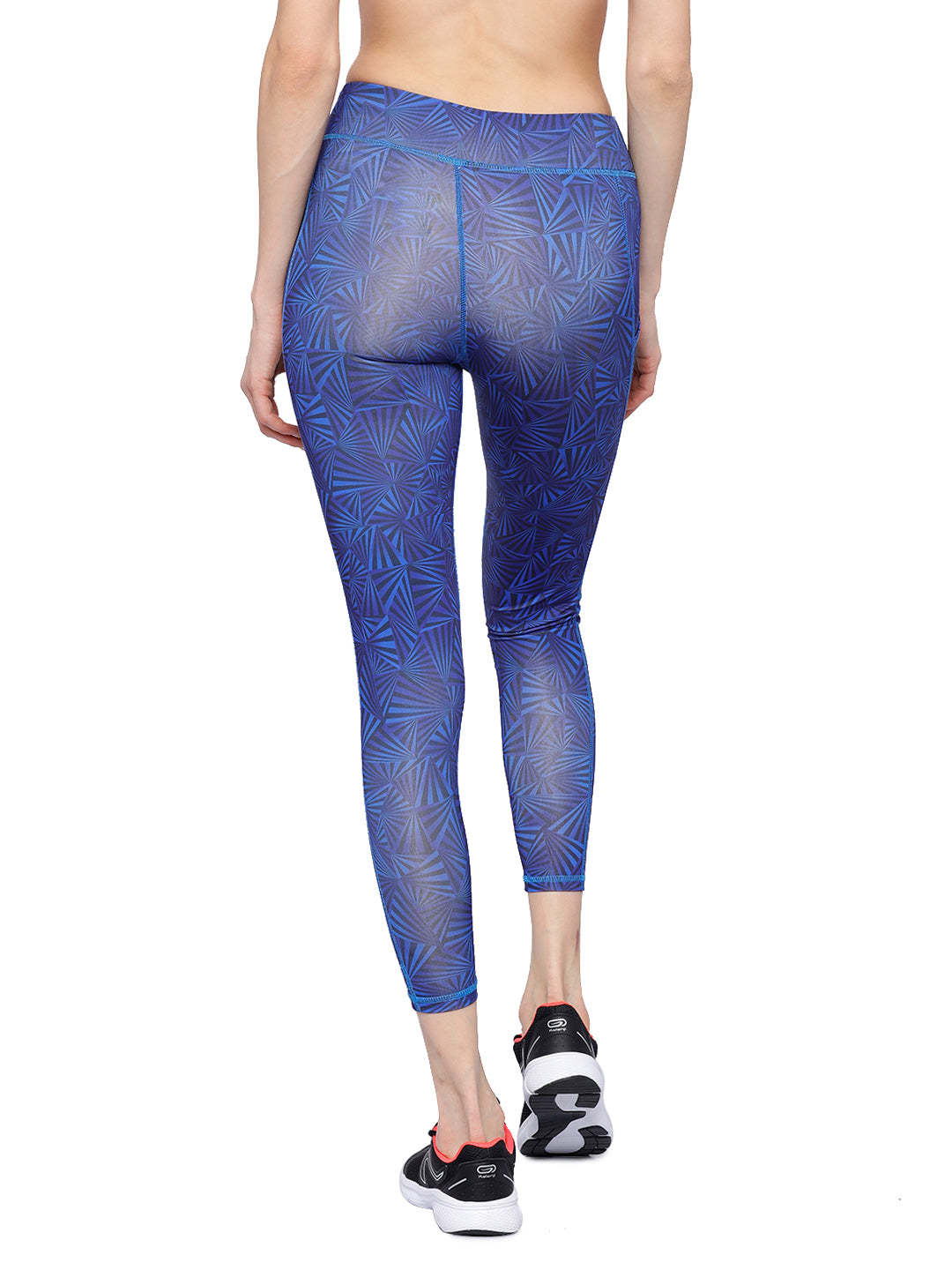 Piranha Women's Printed Yoga And Running Pants - YP182