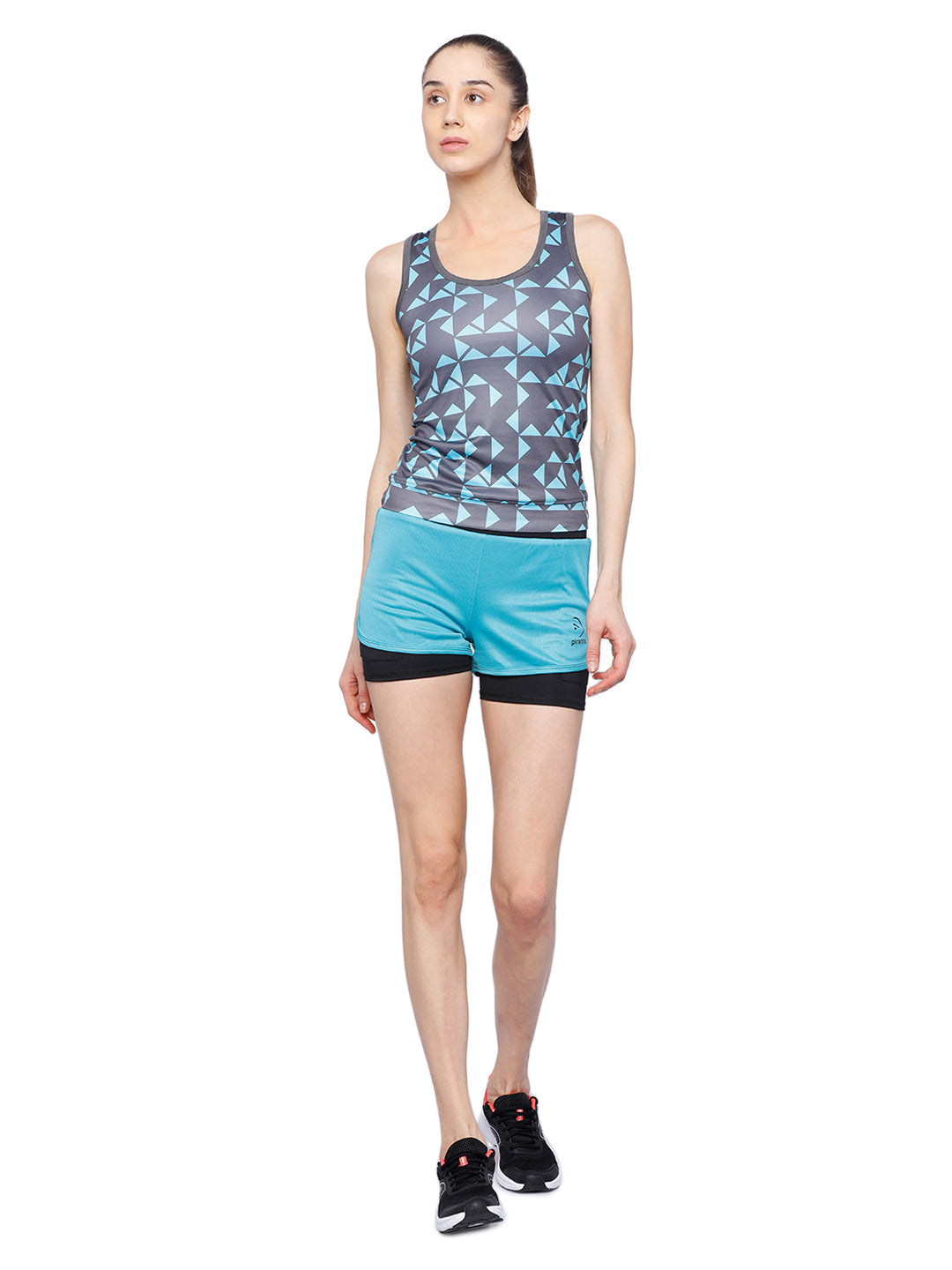 Piranha Women's Grey Tank Top TT301