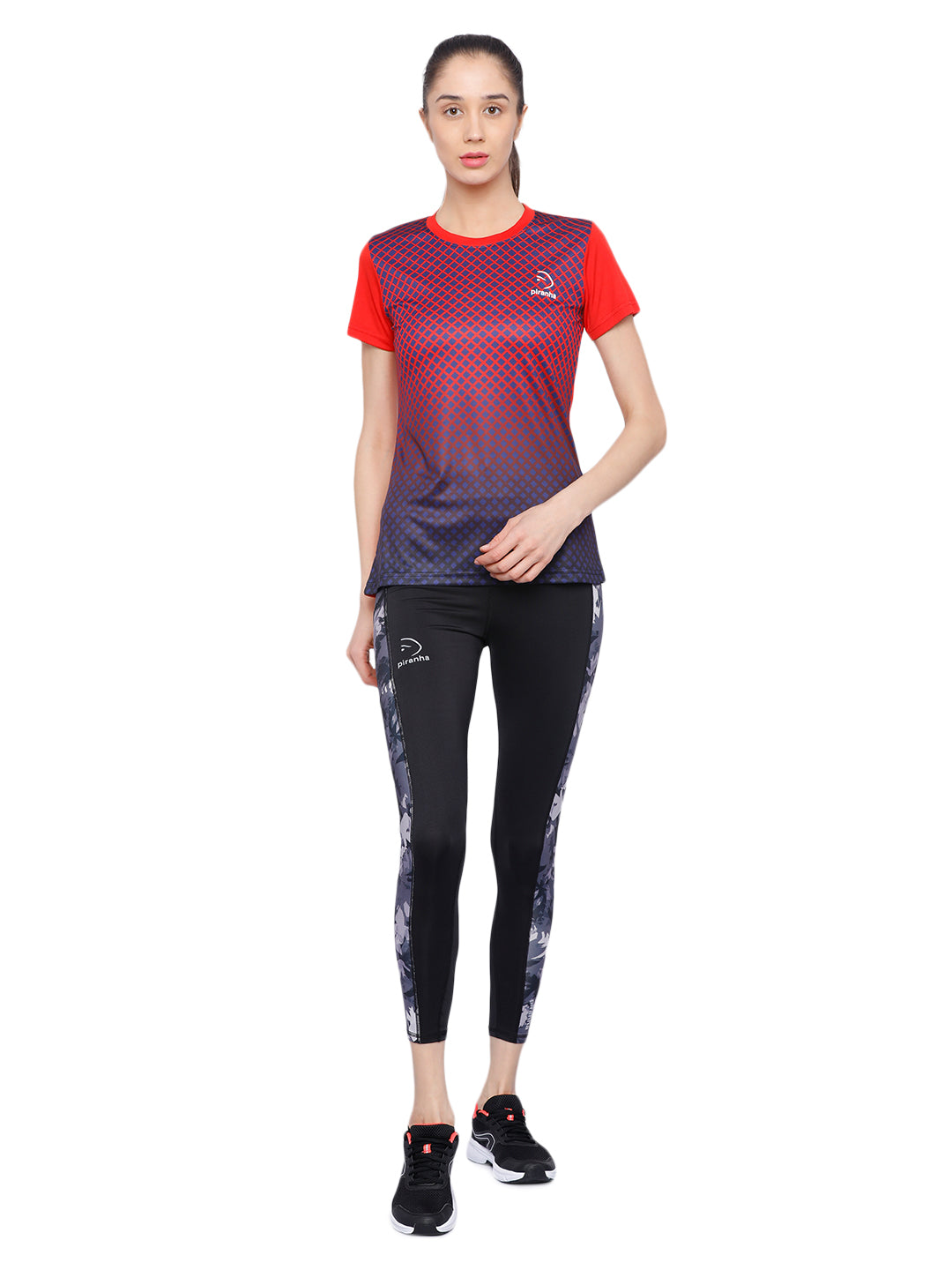 Piranha Women's Red T-shirt TSG153C