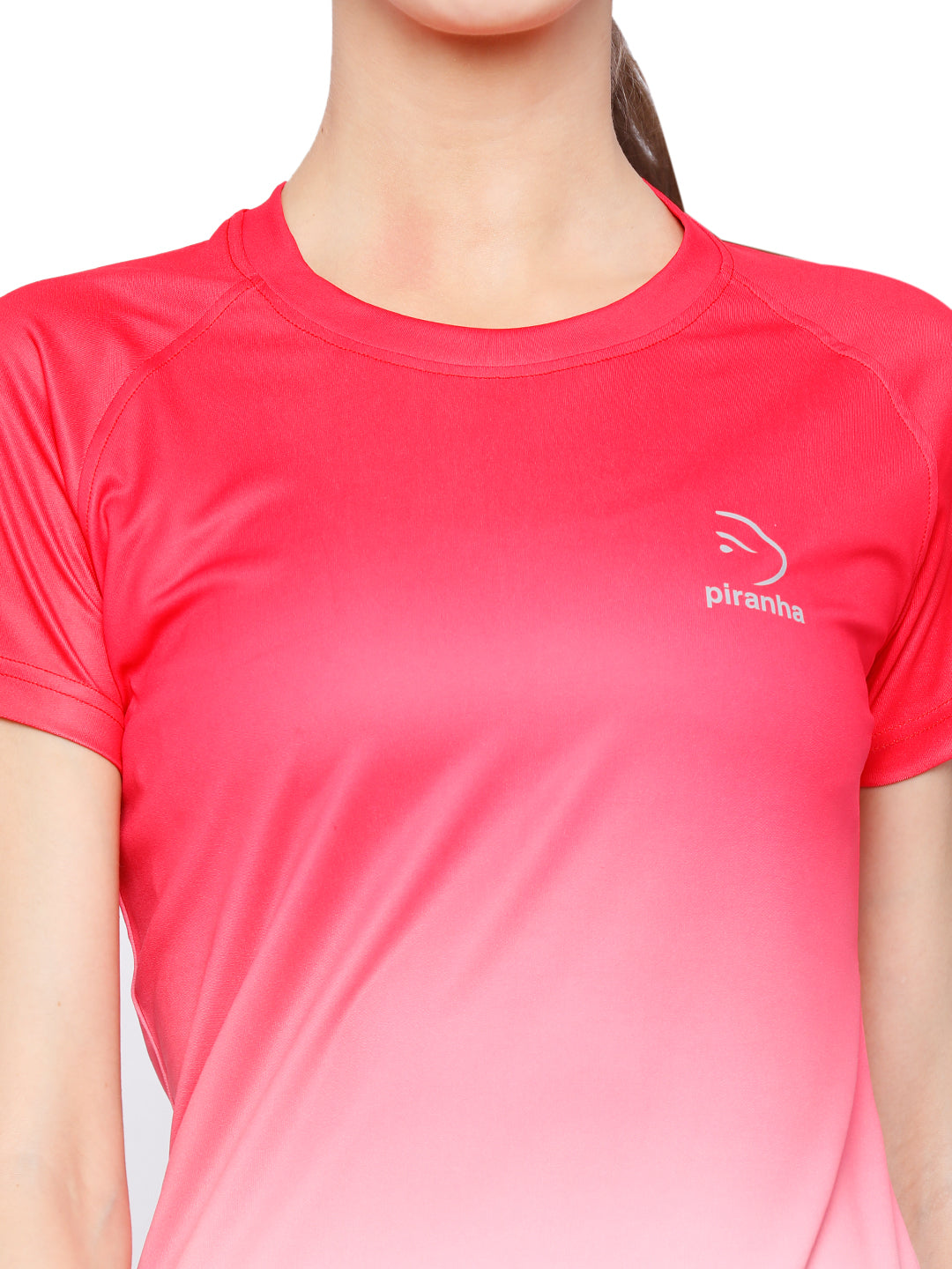 Piranha Women's Pink T-shirt TSG197