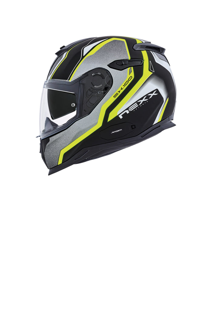 New Nexx SX.100 Carbon crash helmet mega features and suoper light weight great venting too