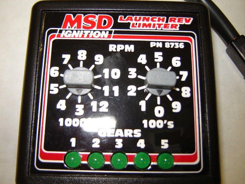 MSD Ignition 8736 Ignition Launch Rev limiter selector Car Racing�up to 5 gears!