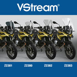 BMW F750GS Windscreen VStream Clear Touring Screen Z-Technik Z2383 2019 Up