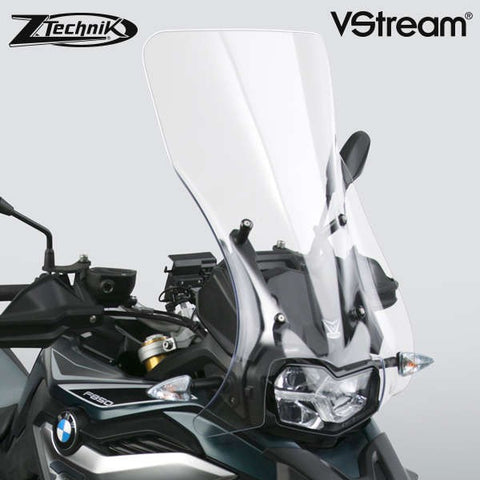 BMW F850GS Windscreen VStream Clear Touring Screen Z-Technik Z2379 2019 Up