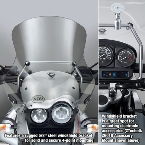 BMW R1150GS Windscreen VStream Slightly Tinted Sport Touring Screen, ZTechnik Z2423