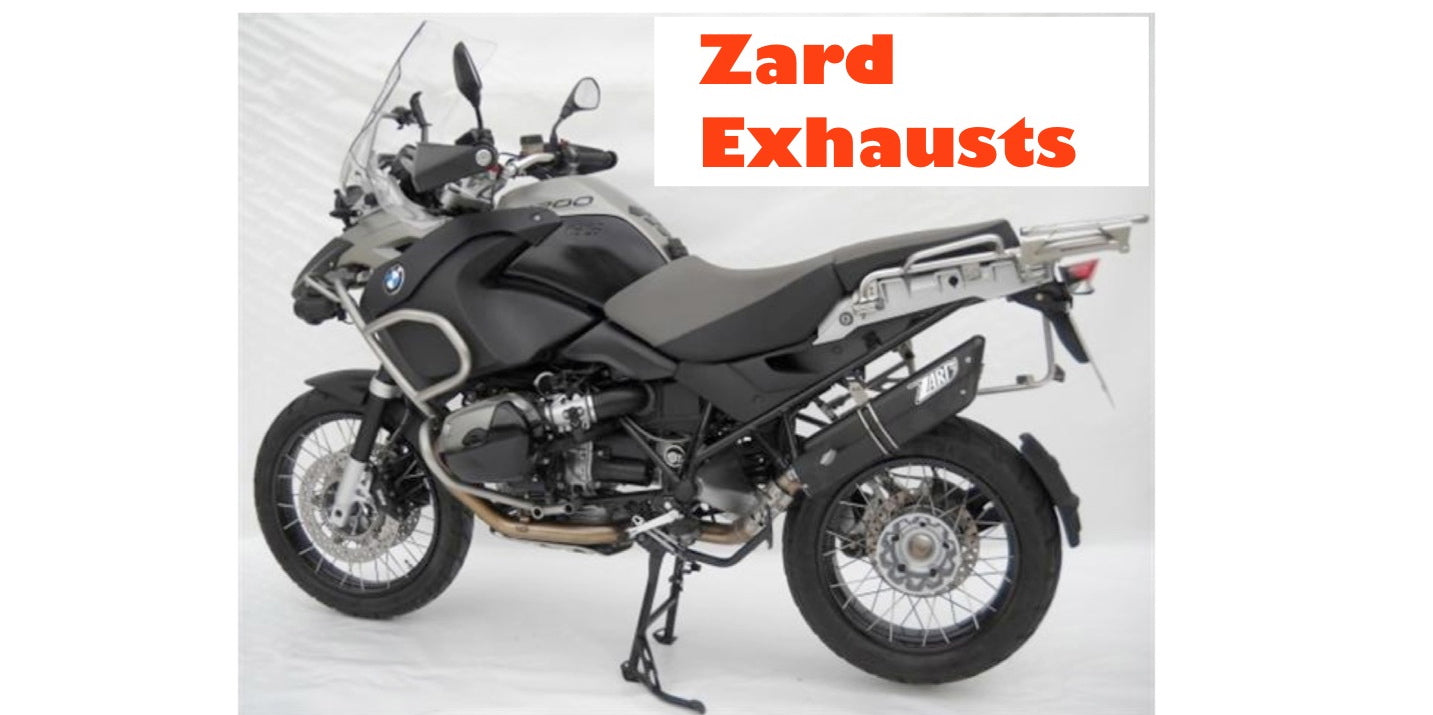 BMW R1200GS Zard Exhaust