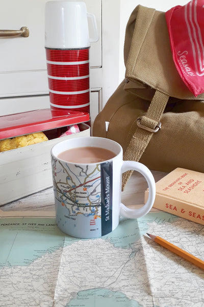 Ordnance Survey St Michael's Mount Region Mug