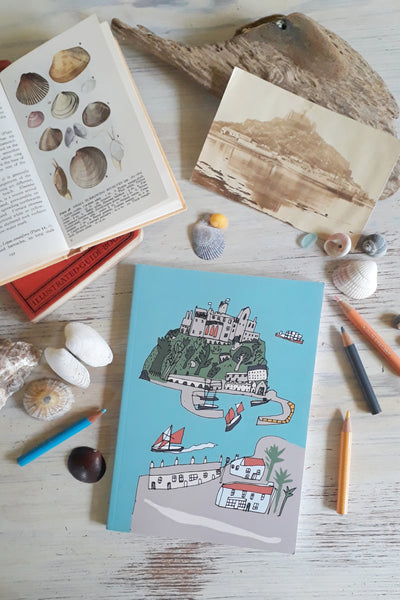 Naive Castle St Michael's Mount Notebook