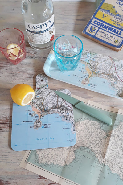 Ordnance Survey St Michael's Mount Chopping Board