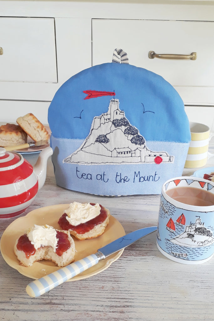 Poppy Treffry St Michael's Mount Tea Cosy