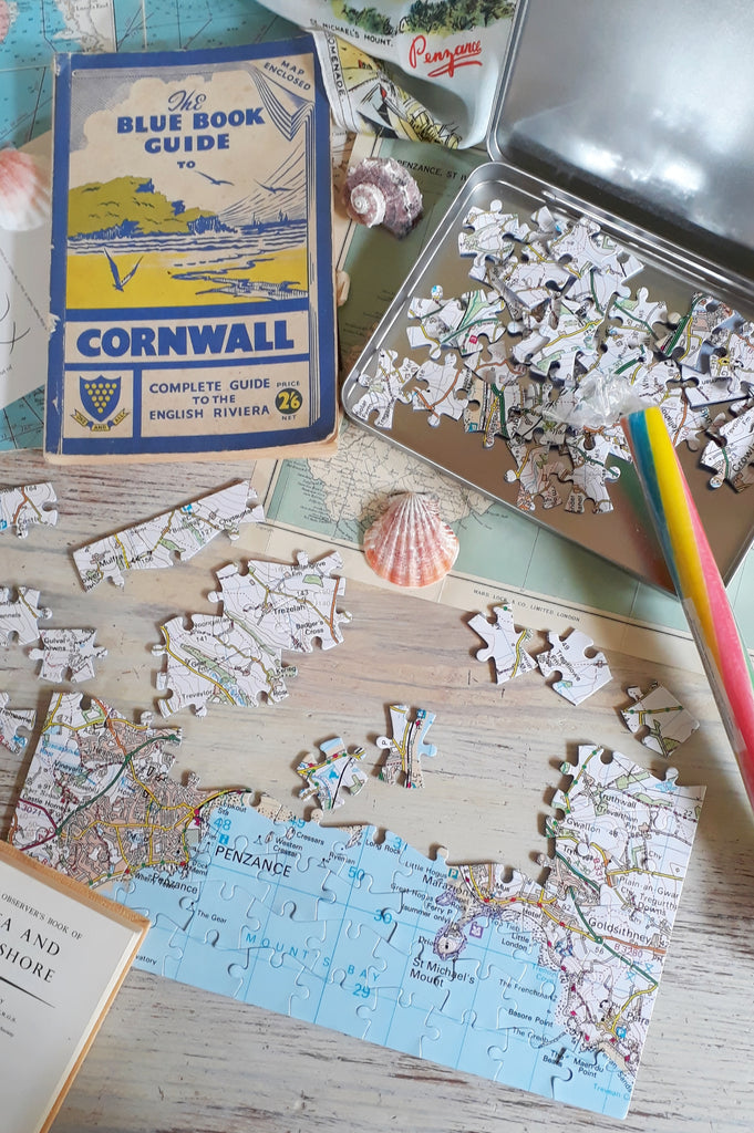 Ordnance Survey St Michael's Mount Puzzle in a Tin