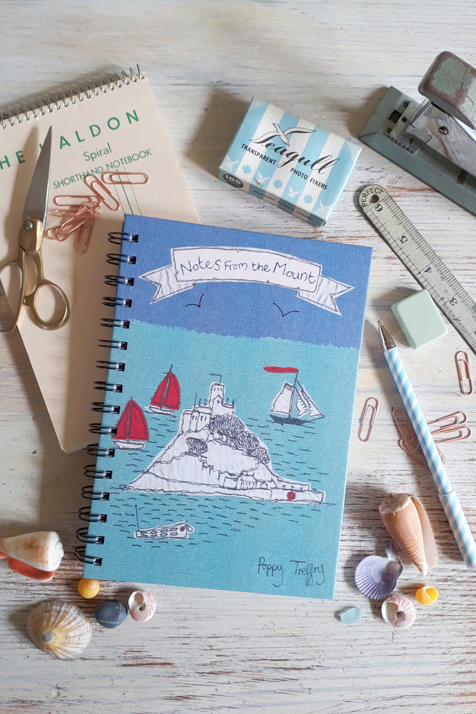 Poppy Treffry St Michael's Mount notebook