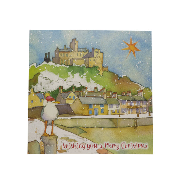Emma Ball - St Michael's Mount Christmas Cards - 10 Pack