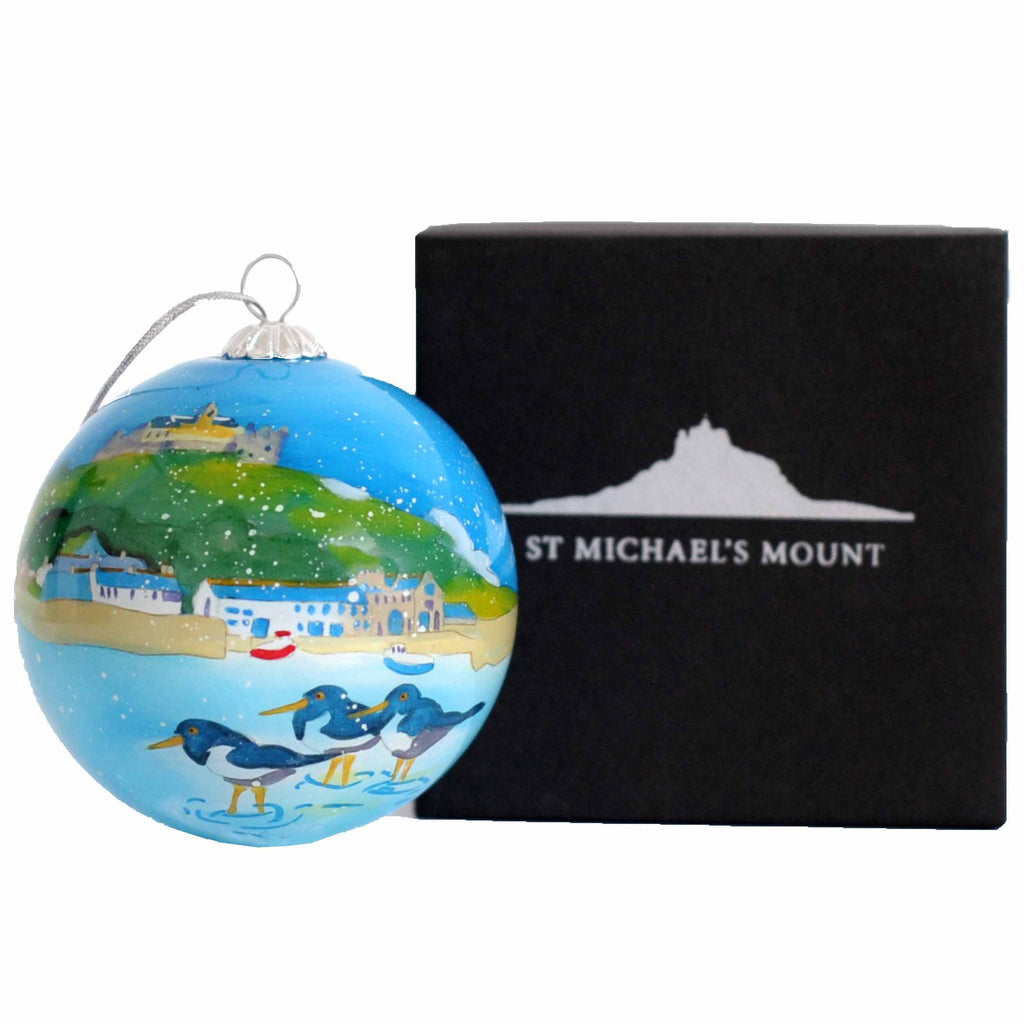St Michael's Mount Christmas Bauble