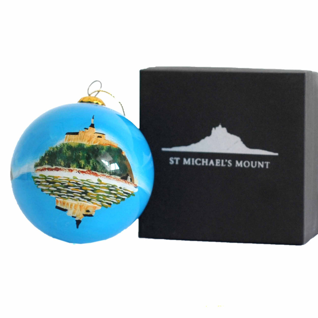 Emma Ball - St Michael's Mount & Mont Saint-Michel Bauble
