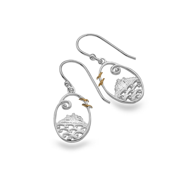 *Bespoke St Michael's Mount Earrings