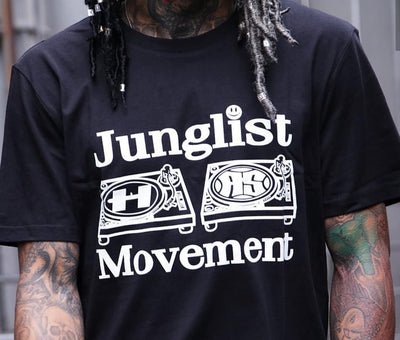 Hospital Records X Junglist Movement Official Collab Tee