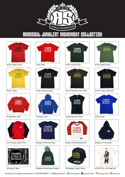 Aerosoul Junglist Movement Collection