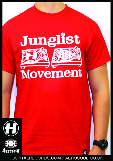 J.M. 20 Hospital Records X Junglist Movement Collab Tee