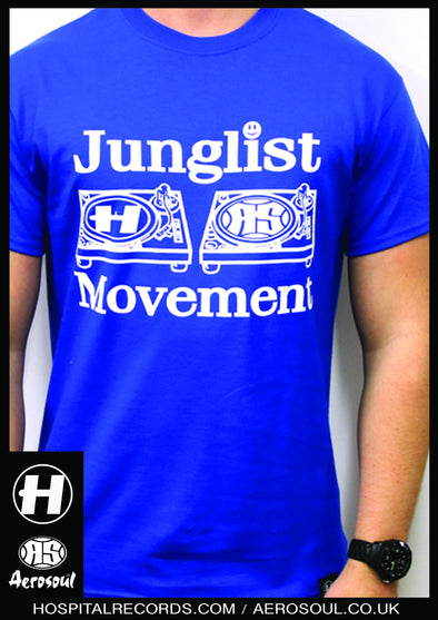J.M. 20 Hospital Records X Junglist Movement Collab Royal Tee