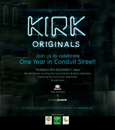 Kirk Originals 1 Year Anniversary & Xmas Party