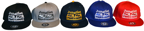 Mr Snappys X Aerosoul junglist Movement Exclusive Embroidered Snapbacks now online!