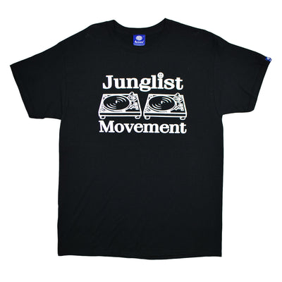 Junglist Movement T-shirt (Black)
